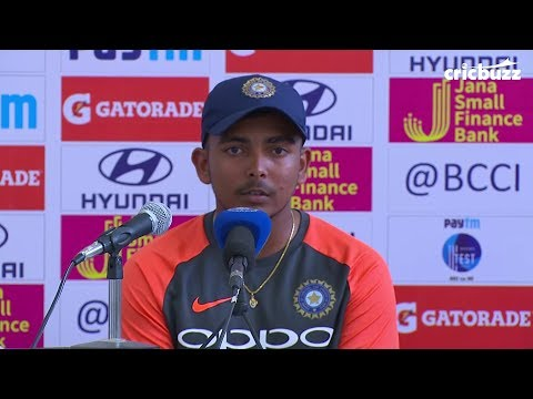 I like dominating bowlers - Prithvi Shaw